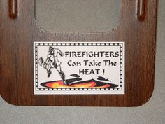 Firefighters Refrigerator Magnet Business Card Size by Kats3meows, $4.99