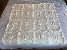 """The last blanket my Ritzy-cat """"helped with"""" before she crossed the rainbow bridge. Designer: Dorothy Warrell from Coats & Clark Nosegay, Afghan Crochet Patterns, Rainbow Bridge, Pattern Making, House Warming, Free Crochet, Great Gifts, Coats, Blanket"""