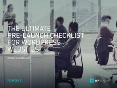 the ultimate pre-launch checklist wordpress sites wpengine torque Social Media Marketing, Digital Marketing, Social Media Training, Google Ads, Seo Services, Design Development, Wordpress, Product Launch, Website