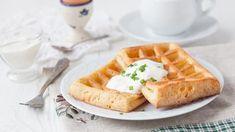 Сырные вафли, пошаговый рецепт с фото