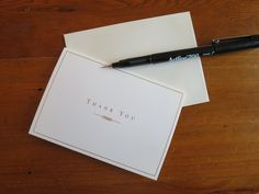 Lifestyle: The Art Of The Thank You Card