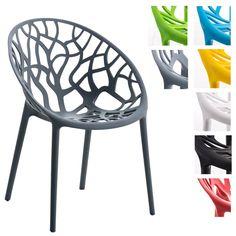 Gut Details Zu Gartenstuhl Hope Kunststoff Stapelstuhl Bistrostuhl Küchenstuhl  Stuhl Stapelbar