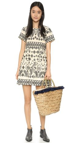 Hat Attack Seagrass Tassel Tote | SHOPBOP Straw Tote, Must Haves, Tassels, Short Sleeve Dresses, Hats, Fashion Design, Clothes, Shopping, Style