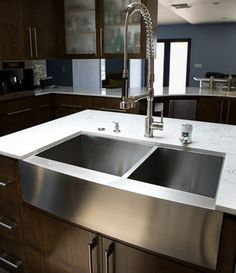 Yes. For the kitchen. Stainless Farmhouse Sinks. Lavello Double Bucket Stainless Farm Sinks