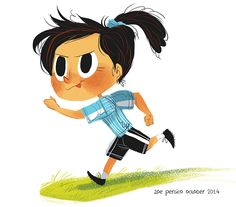 Character design by Zoe Persico