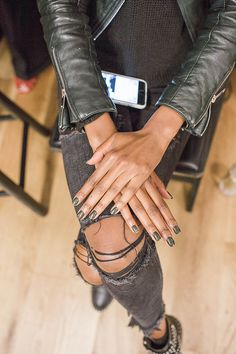 NYFW nails via LaurenConrad.com