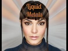 ▶ Liquid Metal Makeup Look - YouTube