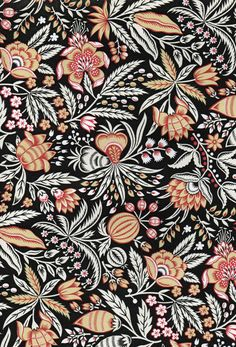 looks like a William Morris. [][] nice example of a limited palette. Trendy Wallpaper, Fabric Wallpaper, Pattern Wallpaper, Wallpaper Ideas, Antique Wallpaper, Flower Wallpaper, William Morris, Motifs Textiles, Textile Patterns