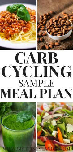 Diet Plan To Lose Weight CARB CYCLING SAMPLE MEAL PLAN. Awesome carb cycling meal ideas for women. Two day menu for carb cycling to lose weight. Diet Tips, Diet Recipes, Healthy Recipes, Recipes Dinner, Dessert Recipes, Low Fat Diets, Low Carb Diet, High Carb Meals, Diet Plans To Lose Weight