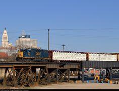 RailPictures.Net Photo: CSXT 2014 CSX Transportation (CSXT) EMD GP38-3 at Cincinnati, Ohio by Brian Edmonson