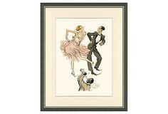 French Dancers Print II on OneKingsLane.com
