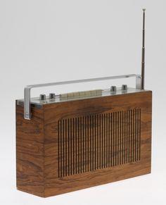 """Beolit 800"" radio, Bang & Olufsen."