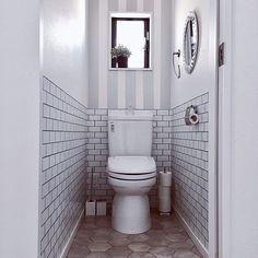 グレーインテリア/IKEA/フロアマット/トイレ/海外インテリアに憧れる/トイレ改造計画…などのインテリア実例 - 2017-09-10 20:08:28 | RoomClip(ルームクリップ)