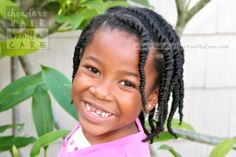 Quick and Easy Flat and Box Twists #NaturalHair #Hairstyle | Chocolate Hair / Vanilla Care
