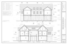 West Beach Residence — Kenneth Wiland ARCHITECT Architectural Services, Architectural Drawings, Architect Jobs, Three Oaks, Modern Exterior House Designs, Elevation Plan, Permanent Residence, Kitchen Cabinet Design, Architecture Details