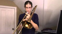 Impressive Trombone Loop Cover of Pharrell Williams' Song 'Happy' I've been listening to Christopher Bill for a long time. He's definitely one of my favorite trombonists. Hopefully I'll get to be half that good one day -Helena