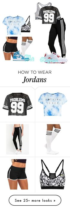 TaylorI by futurewwedivaschampion23 on Polyvore featuring NIKE and adidas Originals