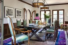 Mix and Chic: Inside a beautifully layered and charming Spanish Colonial Revival in Los Angeles! Spanish Style Homes, Spanish House, Spanish Revival, Spanish Colonial Decor, Front Courtyard, Art Deco, Tuscan Style, Celebrity Houses, Guest Bedrooms