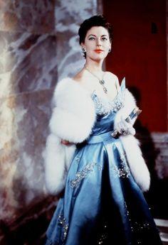 """Ava Gardner -   maybe 1962 during filming of """"55 Days at Peking"""""""