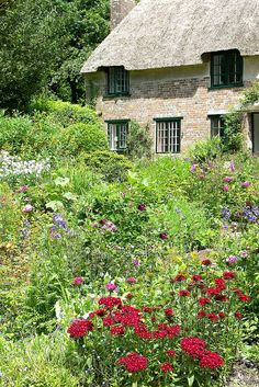 Thomas Hardy's Birthplace, Higher Bockhampton, Dorset by teresue, via Flickr