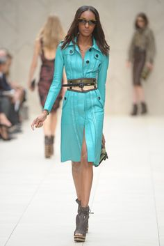 Burberry Prorsum RTW Spring 2012 I LOVE THIS