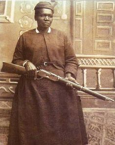 """Mary Fields, also known as Stagecoach Mary. She was the first African-American woman employed as a mail carrier in the United States, and just the second American woman to work for the United States Postal Service. Even though she was about 60 years old when she applied, Mary was hired because she was the fastest applicant to hitch a team of six horses. She never missed a day, and her reliability earned her the nickname """"Stagecoach."""" She was Born a slave in 1832 and died a legend in 1914"""