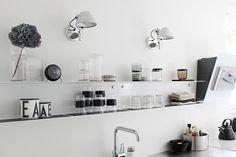 Vaihtelevasti Valkoista: Uusi vanha keittiö