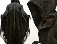 SHUT UP AND TAKE MY MONEY!!!  CREEPY-COOL: Fashionable Ringwraith Hooded Coat [Pics]