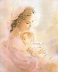 MADONNA & CHILD 9 - Catholic picture - print