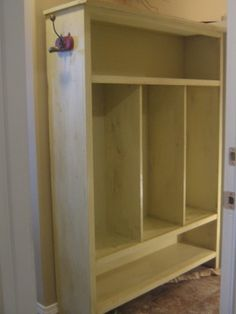 """LUMBER: We have lots of great plank wood waiting to be """"repurposed"""" into entry way / mudroom storage!"""