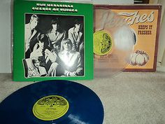 THE YARDBIRDS SHAPES OF THINGS JIMMY PAGE ERIC CLAPTON BLUE/CLEAR VINYL 2 LPS NM           Bill Stack I want my lp back.