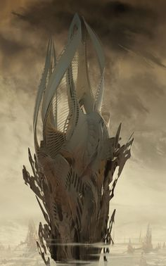Ender's Game Concept Art by David Levy