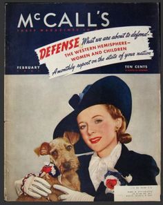 McCall's - Three Magazines In One,  February 1941