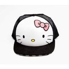 hello kitty ❤ liked on Polyvore featuring hello kitty and hats