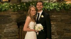 Ty & Amy on their wedding day