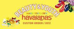 BEAUTY & YOUTH UNITED ARROWS  havaianas Custom Order  http://www.facebook.com/DressShoesandSneaker  http://dressshoesandsneakers.tumblr.com/
