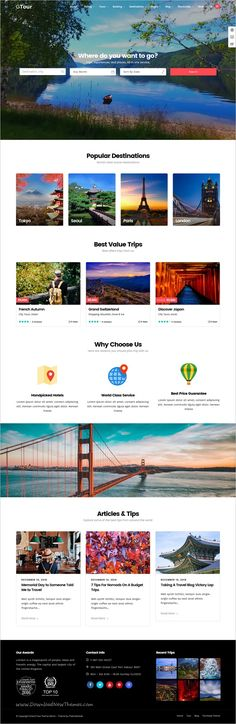 Grand Tour is a modern design responsive #WordPress theme for #webdev Tour & #Travel Agency websites download now➩ https://themeforest.net/item/grand-tour-tour-travel-wordpress/19264426?ref=Datasata