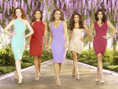 Goodbye girls, we'll miss you #DesperateHousewives