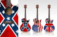 Acoustic Guitars by daver2002ua on Creative Market