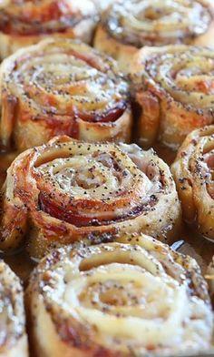Hot Ham & Cheese Party Rolls | Kevin & Amanda's Recipes | Food & Travel Blog