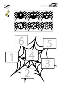 printables for kids Adult Coloring Book Pages, Coloring Books, Coloring Pages, Diy And Crafts, Crafts For Kids, Bricolage Halloween, Preschool, Puzzle, Kids Rugs
