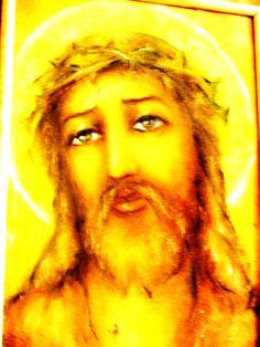 addiction  JESUS  Oil painting on canvas 50/35