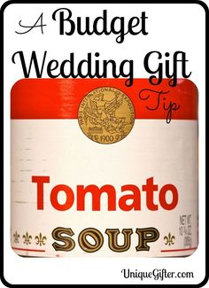Budget Wedding Gift Tip - Unique Gifter #weddinggifts Wedding Gifts Wedding Gift Ideas #wedding