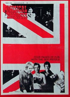 Sex Pistols New Musical Express August 6th 1977