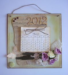 Romantic calendar 2012