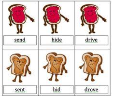 Irregular Verbs Peanut Butter and Jelly