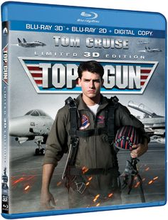 """Win a free 3D Blu-ray combo pack to the highly anticipated home entertainment release of """"Top Gun"""" starring Tom Cruise and Val Kilmer courtesy of HollywoodChicago.com! Win here: http://ptab.it/xtZi"""