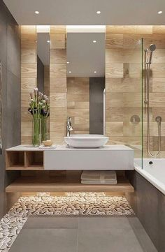 Here are the Contemporary Bathroom Design Ideas. This article about Contemporary Bathroom Design Ideas was posted under the Bathroom category. Bathroom Spa, Bathroom Layout, Bathroom Colors, Bathroom Interior Design, Bathroom Ideas, Bathroom Organization, Bathroom Storage, Bathroom Mirrors, Bathroom Plants