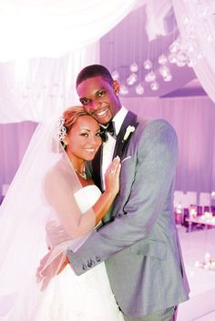 VIP wedding: NBA player Chris Bosh and Adrienne Williams