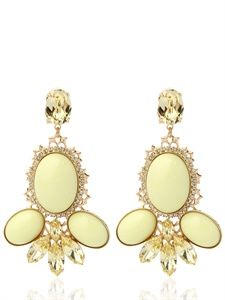 ANTON HEUNIS - BRIGITTE BARDOT COLLECTION LIME EARRINGS